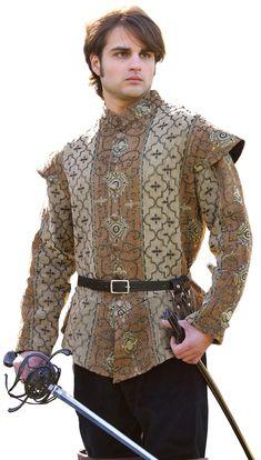 Royal Court Doublet | Elegant Renaissance Doublet for Men