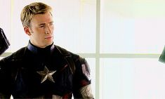 Steve Rogers || Avengers: Age of Ultron || 500px × 300px || #animated #promo #bts
