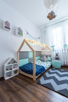 Traumhaus ist ein perfekter Ort zur Erholung und Spiel für jedes Kind. Am Tage dient das Haus zum Spielen, in der Nacht kann man gut schlafen.  Durch die skandinavische Einfachheit eines solchen...