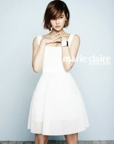 Oh Yeon Seo - Marie Claire April 2014 | Beautiful Korean Artists