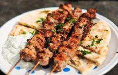 Typowe greckie jedzenie.
