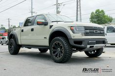 Ford Raptor with Black Rhino Warlord Wheels exclusively from Butler Tires and Wheels in Atlanta, GA - Image Number 10449 Raptor Truck, Ford Raptor, 4x4 Off Road, Ford F Series, Sweet Cars, Ford Trucks, Butler, Offroad, Muscle Cars