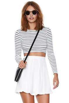 Nasty Gal Pleatest Taboo Skirt | Shop What's New at Nasty Gal