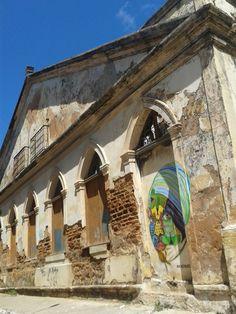 Marcas da história. Centro Histórico de Natal, RN, Brasil.