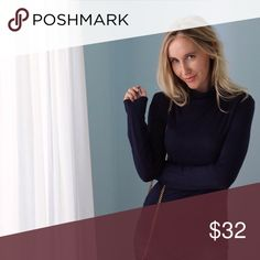 🆕Gramercy Turtleneck | Navy ◽️The Gramercy Turtleneck is my personal #1 basic in the Fall/Winter. Being from NY, I live in turtlenecks 6 months of the year. This top is simple and incredibly soft, perfect fit - not too loose or tight, nice stretch, great length. Classic navy color. Goes with everything and also perfect for layering. 95% rayon/5% spandex. Nonsheer. New without tag.  ▫️Sizes available: S | M | L ▫️I am modeling size S ▫️Price is firm 📷 Photos are my own Tops
