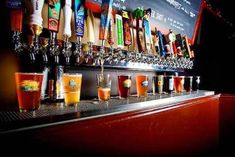 The widest choice of craft beers, ales, ciders, and wines in a friendly environment where patrons can order in food from over 20 local restaurants.