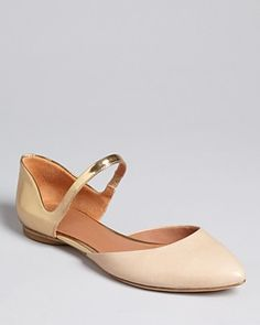 Shoes Sigerson Morrison Pointed Toe Mary Jane Flats - Holli2 | Bloomingdale's