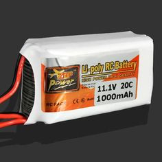 ZOP Power 11.1V 1000MAH 20C Lipo Battery JST Plug  Description: Battery parameter:ZOP Power 11.1V 1000MAH 20C Capacity:1000mAh Size:26*30*53MM Continuous Discharge Rate:20C   Weight:70g Colors:Standard Colors Note: due to the difference between the measurement, the battery dimension and...