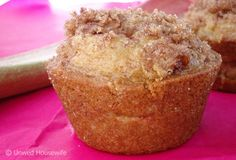 THE BEST rhubarb muffins!Really nice recipes. Every hour.Show me  Mein Blog: Alles rund um Genuss & Geschmack  Kochen Backen Braten Vorspeisen Mains & Desserts!