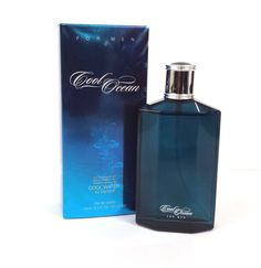 COOL OCEAN PREFERED BY COOL WATER by Davidoff Men's Cologne 3.3 oz NIB #PREFERREDFRAGRANCE