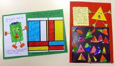 """Finalmente il progetto """"Le forme geometriche"""",   già presentato nei post precedenti, è concluso.     I nostri lavori li met..."""
