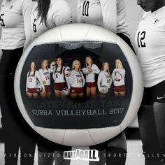 """The perfect end of season or """"good luck"""" team gift! Custom volleyball gifts for players, for teammates, and coach! Check out more photo customized sports gift ideas by Make A Ball  #volleyballgiftsforteammates #forcoach #forgirls #endofseason #bigsister #ideas #sister #personalized #goodluckteam #8thgradenight"""