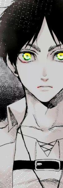 Shingeki no Kyojin | Attack on Titan | Anime | Boy | Kawaii | Eren Jaeger | Cute | Badass | Art | Epic | Best | Heros