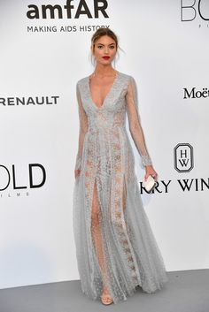 Martha Hunt - The Dreamiest Dresses on the 2017 Cannes Red Carpet - Photos