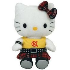 Ty Beanie Baby: Hello Kitty Punk