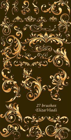 floral design  by ~ElizaVladi