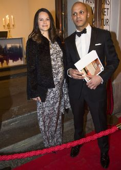 Princess Sofia of Sweden attended a dinner for Project Playgroun