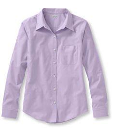 #LLBean: Wrinkle-Free Pinpoint Oxford Shirt, Long-Sleeve