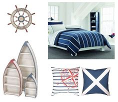 Find some nautical bedroom decor and fun ideas that will inspire you to create a fun nautical bedroom that you'll…