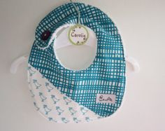 Baby bibs whit Lotta Jansdotter fabric