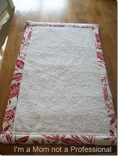 Changing pad tutorial. Wish I still needed one of these. What a great idea!
