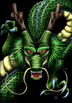 Shenron The Dragon God of Dragon Ball by The-Dreaming-Dragon on DeviantArt
