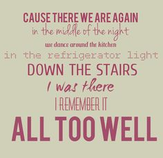 all too well -- taylor swift