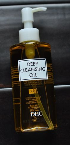 DHC Deep Cleansing Oil Makes Your Skin Free & Clear In A Jiffy