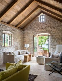 This is my one story crusty dream in the south of France. With a pool and patio . - Stone Design Masonry, LLC bauernhof This is my one story crusty dream in the south of France. With a pool and patio … – Stone Design Masonry, LLC Stone Houses, Stone Cottages, My Dream Home, Beautiful Homes, House Plans, New Homes, Interior Design, Patio Stone, Farmhouse Renovation