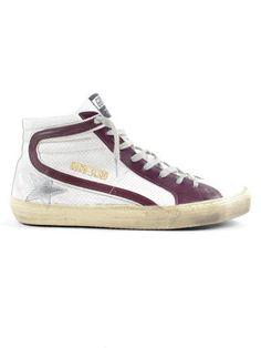GOLDEN GOOSE Golden Goose Sneaker Slide. #goldengoose #shoes #golden-goose-sneaker-slide