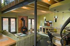 Living Room - contemporary - living room - philadelphia - Pinard Architects