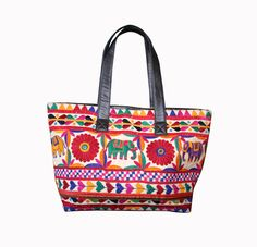 aeea12b71a Ethnic Vintage Banjara Indian Shoulder Bag Hippie Hobo Bag Gypsy Embroidery  Bag. Indian TextilesMirror WorkTote ...