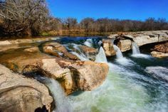 Perdenales Falls Very good pin to open. Shows many beautiful areas in Texas