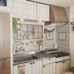 Kitchen/ナチュラル/DIY/セリア/ガーランド/賃貸...などのインテリア実例 - 2016-03-05 16:29:03
