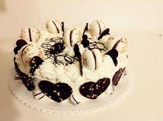 Torta panna cioccolato e nocciole