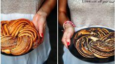 Kynuté těsto, máslo, skořice a ten finální výsledek… I když vypadá docela obtížně, opak je pravdou. Zkuste ho upéct nejen se skořicí, ale i s makovou náplní. Sweet Cakes, Love Is Sweet, Ratatouille, Sweet Recipes, Food And Drink, Blog, Baking, Ethnic Recipes, Bread Making