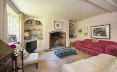 Bridge House #livingroom #fireplace