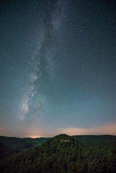Stars at Sam's Throne - Boston Mountains, Arkansas [700x1049]
