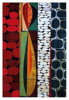 Art Print: Flamenco by Rex Ray : Modern Art, Contemporary Art, Art Plastique, Textures Patterns, Framed Artwork, Wall Art, Find Art, Giclee Print, Fine Art Prints