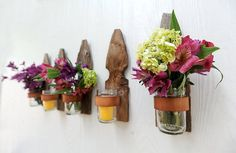 cool idea to reuse old fence pickets | fence pickets | Pinterest