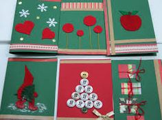 Kuvahaun tulos haulle joulukortti askartelu ja käsityö