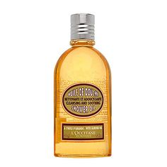 L'occitane-most amazing in the shower, cleanses and moisturizes really well-I find you don't even need to use a moisturizer after using this in the shower!!!!! Merci L'Occitane yet again :)