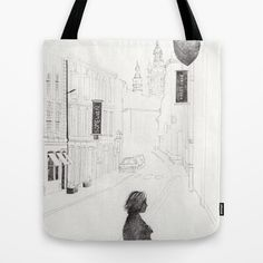 """""""Bruxelles"""" Tote bag http://society6.com/martargustems by Marta R. Gustems"""