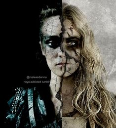 Clarke + Lexa: Maybe life should be more than just surviving, don't we deserve better than that? Description from pinterest.com. I searched for this on bing.com/images