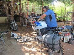 Tips advice - The best tools for repair, service and maintenance to pack for an extended motorcycle road trip around the world or just a short holiday.