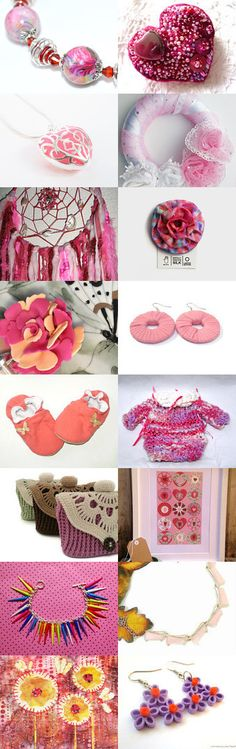 In the Pink by Maureen Mace on Etsy--Pinned with TreasuryPin.com