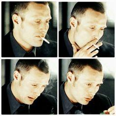 I am so anti-smoking.  I hope he stops.  But in this pic, he looks G.O.R.G.E.O.U.S.!  RF
