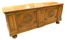 WALNUT COFFER
