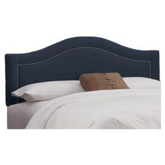 I pinned this Limoges Headboard in Navy from the Spring into Style event at Joss and Main!