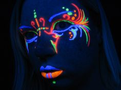 1000 images about Blacklight makeup on Pinterest #0: abb15cb3448b7ef904cd